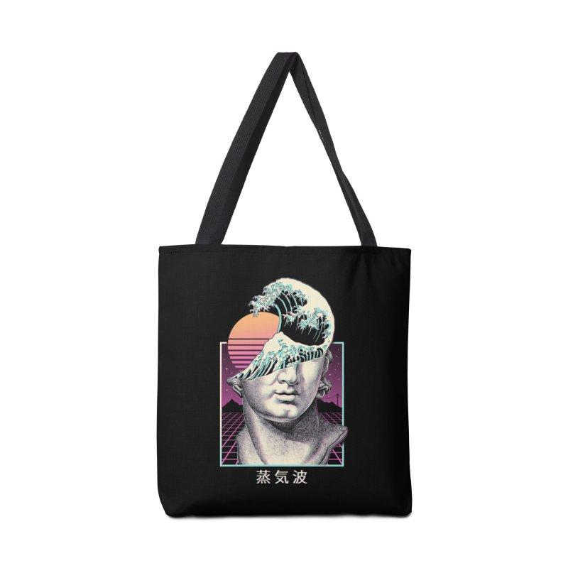 Great Vaporwave Accessories Tote Bag Bag by Vincent Trinidad Art