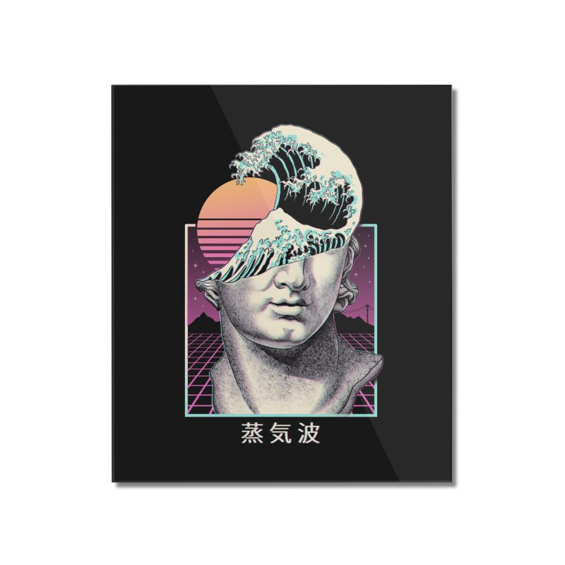 Great Vaporwave Home Mounted Acrylic Print by Vincent Trinidad Art