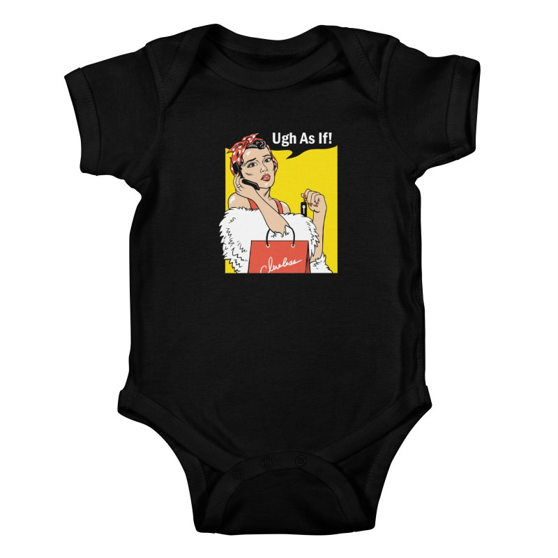 As If Rosie Kids Baby Bodysuit by Vincent Trinidad Art