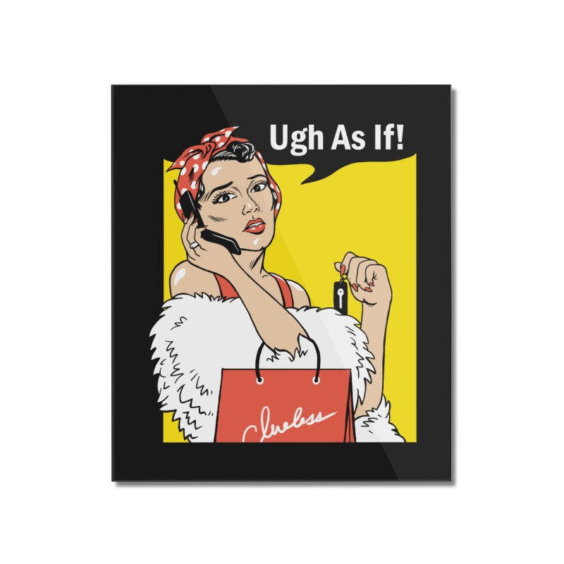 As If Rosie Home Mounted Acrylic Print by Vincent Trinidad Art