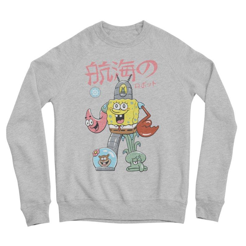 Nautical Combiner Women's Sponge Fleece Sweatshirt by Vincent Trinidad Art