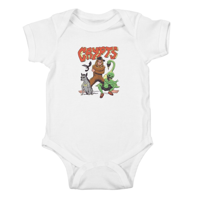 West Side Crypts Kids Baby Bodysuit by Vincent Trinidad Art