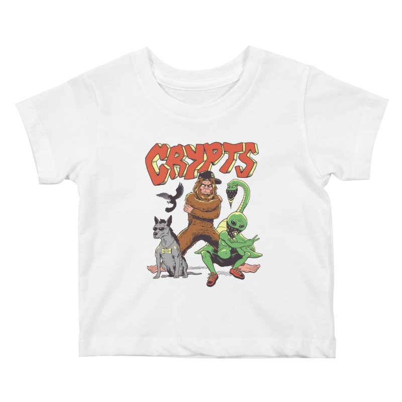 West Side Crypts Kids Baby T-Shirt by Vincent Trinidad Art