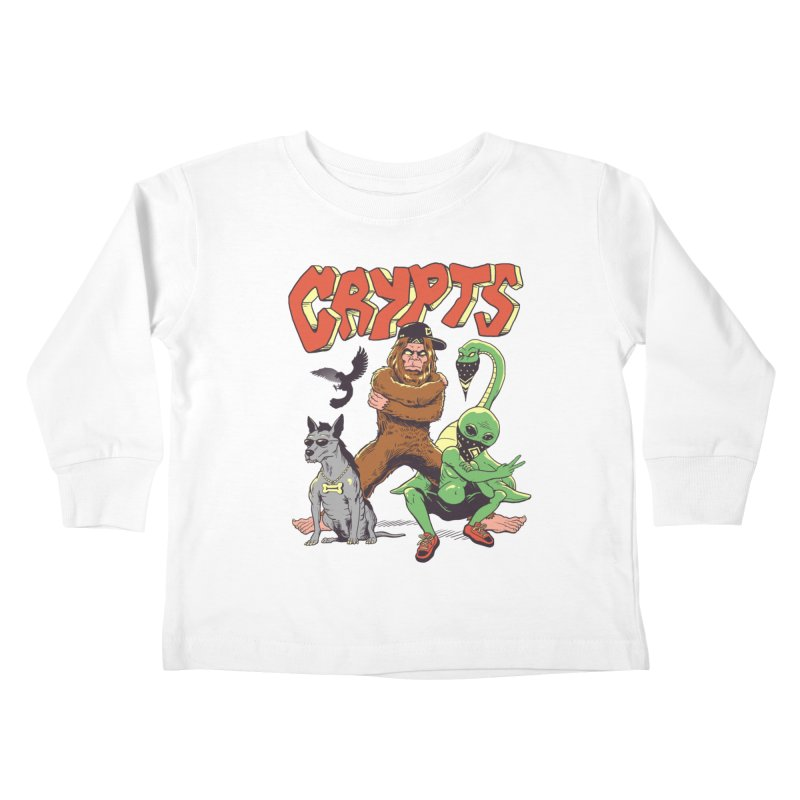 West Side Crypts Kids Toddler Longsleeve T-Shirt by Vincent Trinidad Art