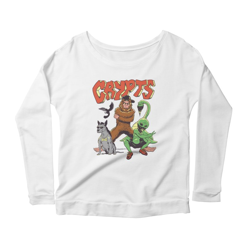 West Side Crypts Women's Scoop Neck Longsleeve T-Shirt by Vincent Trinidad Art