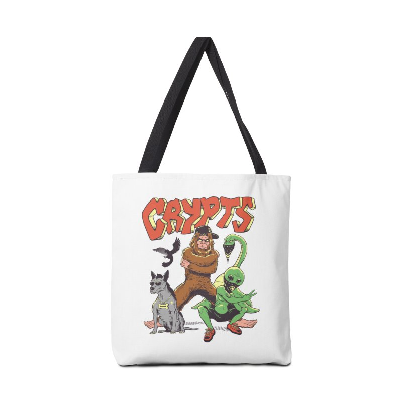 West Side Crypts Accessories Tote Bag Bag by Vincent Trinidad Art
