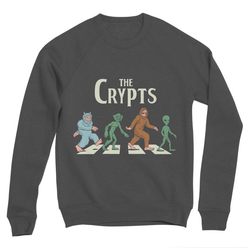 Cryptid Road Women's Sponge Fleece Sweatshirt by Vincent Trinidad Art