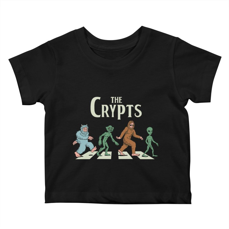 Cryptid Road Kids Baby T-Shirt by Vincent Trinidad Art