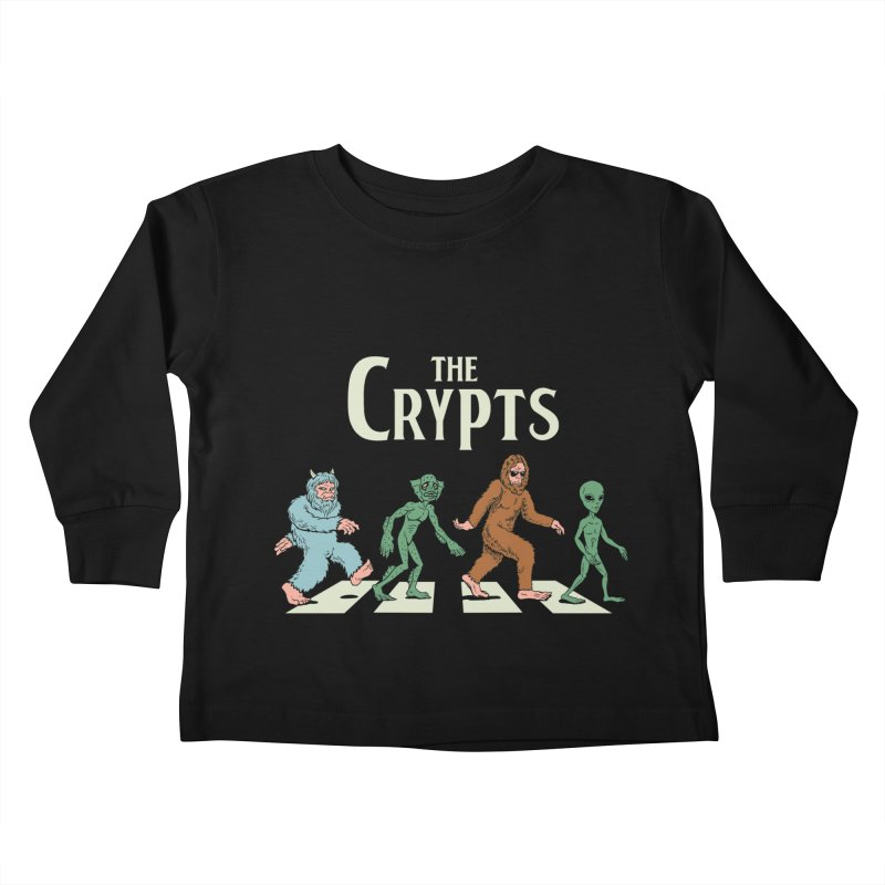 Cryptid Road Kids Toddler Longsleeve T-Shirt by Vincent Trinidad Art