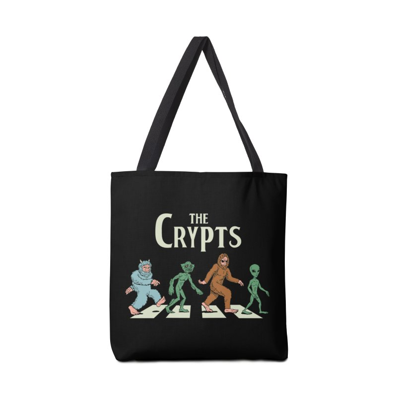 Cryptid Road Accessories Tote Bag Bag by Vincent Trinidad Art