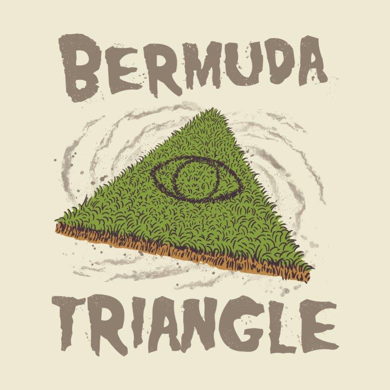 Bermuda Triangle Men's Pullover Hoody by Vincent Trinidad Art