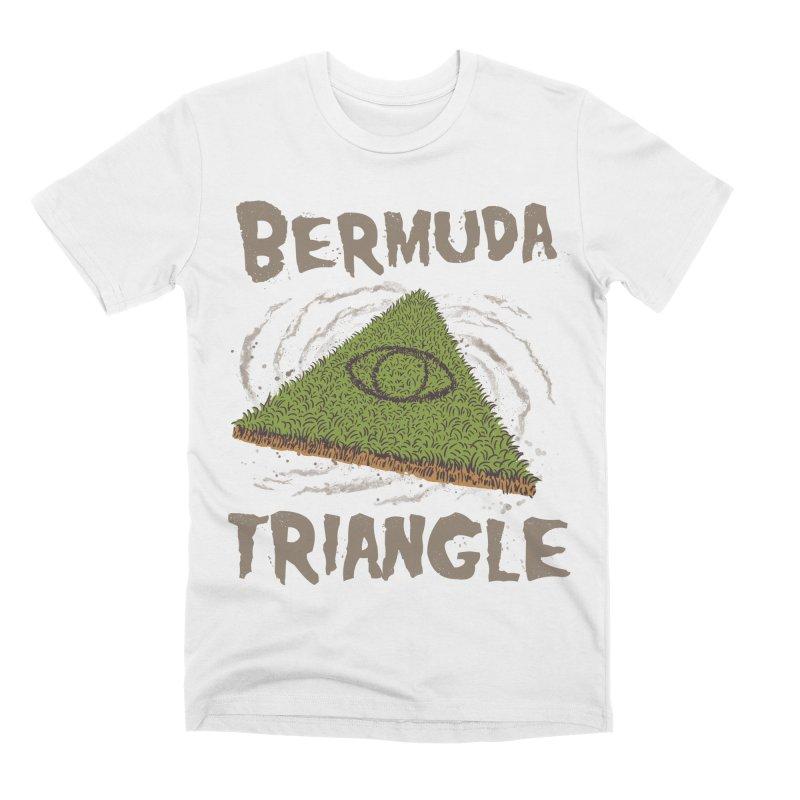 Bermuda Triangle Men's Premium T-Shirt by Vincent Trinidad Art