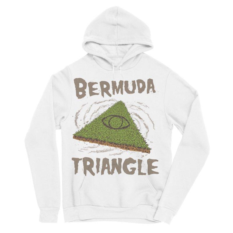 Bermuda Triangle Men's Sponge Fleece Pullover Hoody by Vincent Trinidad Art