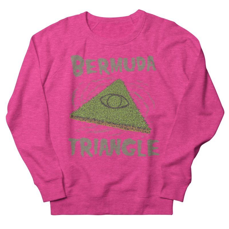 Bermuda Triangle Men's French Terry Sweatshirt by Vincent Trinidad Art