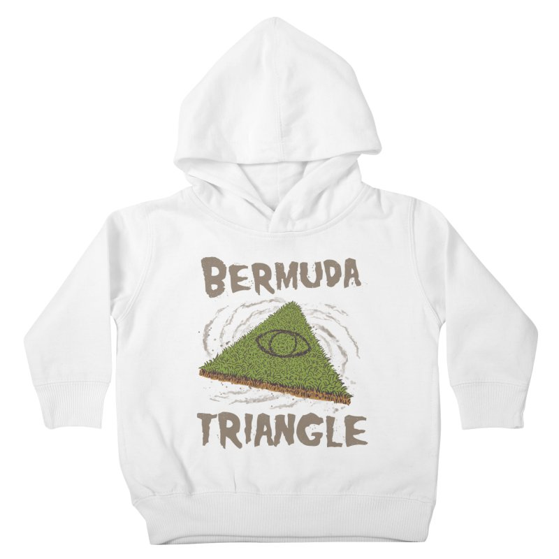 Bermuda Triangle Kids Toddler Pullover Hoody by Vincent Trinidad Art