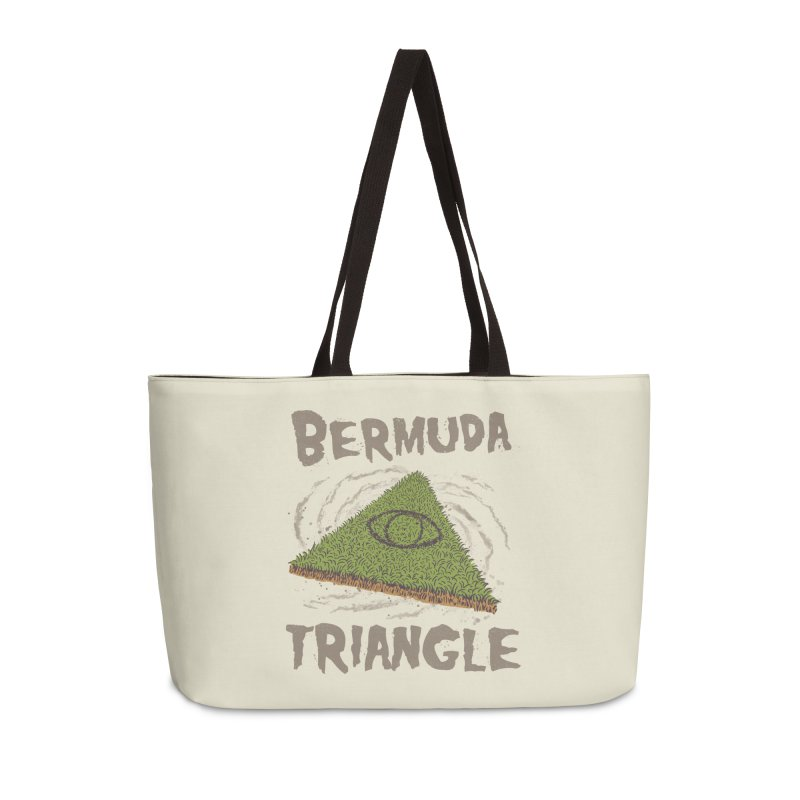 Bermuda Triangle Accessories Weekender Bag Bag by Vincent Trinidad Art