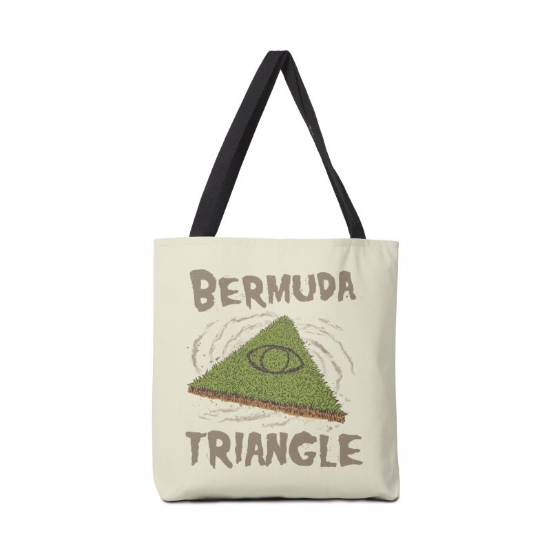 Bermuda Triangle Accessories Tote Bag Bag by Vincent Trinidad Art