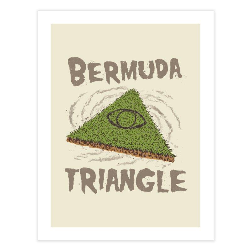 Bermuda Triangle Home Fine Art Print by Vincent Trinidad Art