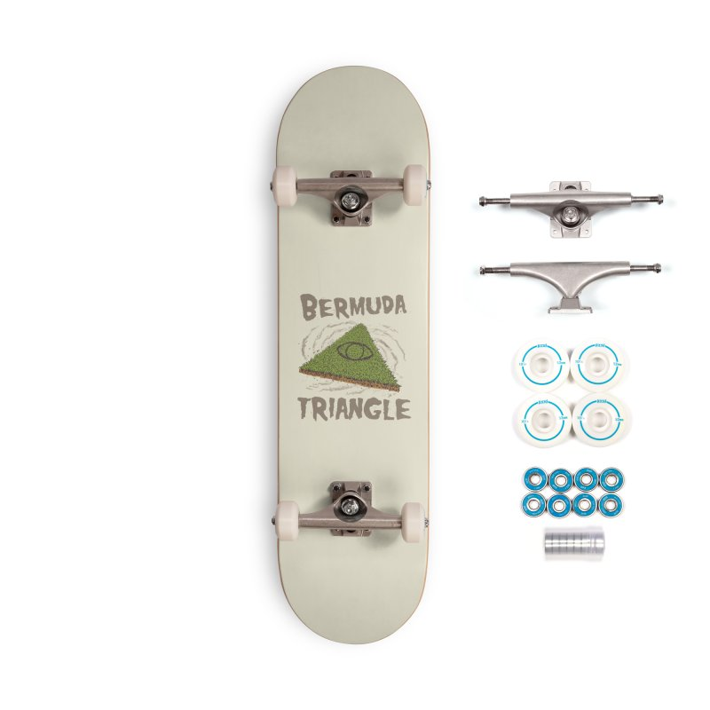 Bermuda Triangle Accessories Complete - Basic Skateboard by Vincent Trinidad Art