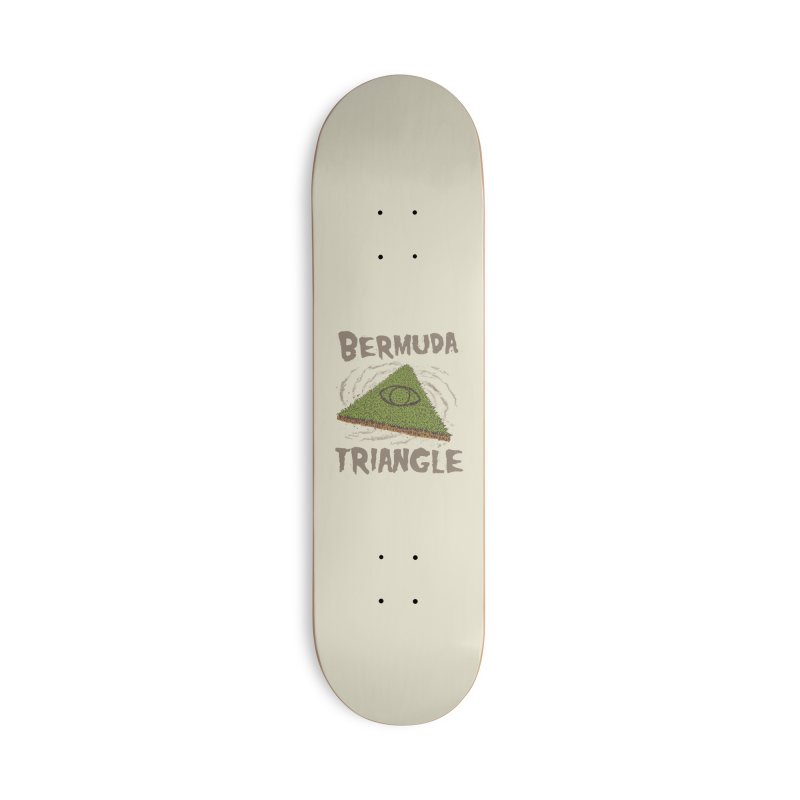 Bermuda Triangle Accessories Deck Only Skateboard by Vincent Trinidad Art