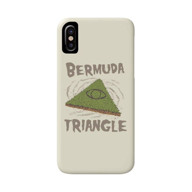 Bermuda Triangle Accessories Phone Case by Vincent Trinidad Art