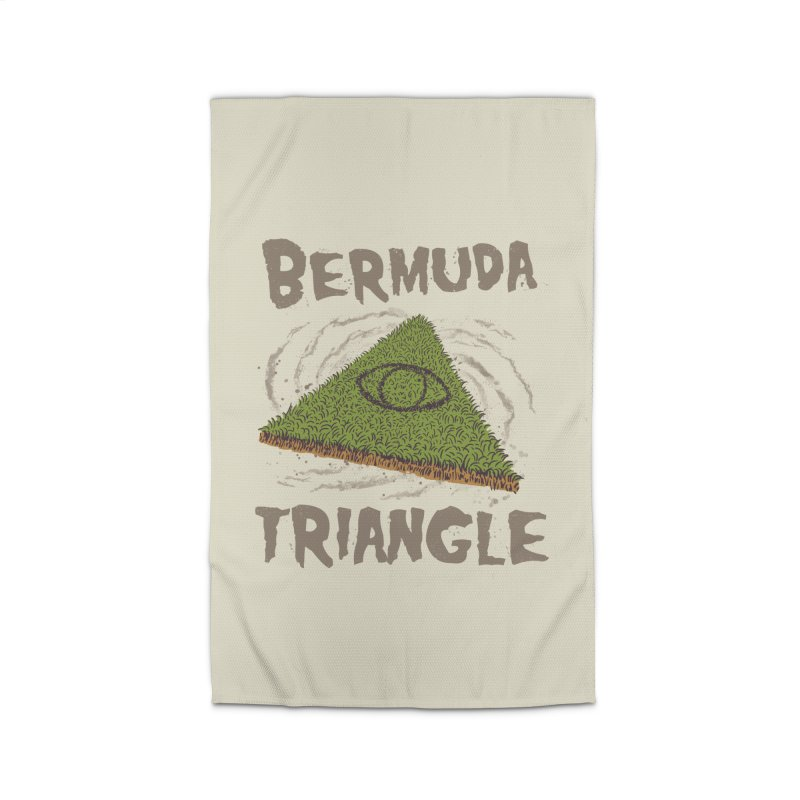 Bermuda Triangle Home Rug by Vincent Trinidad Art