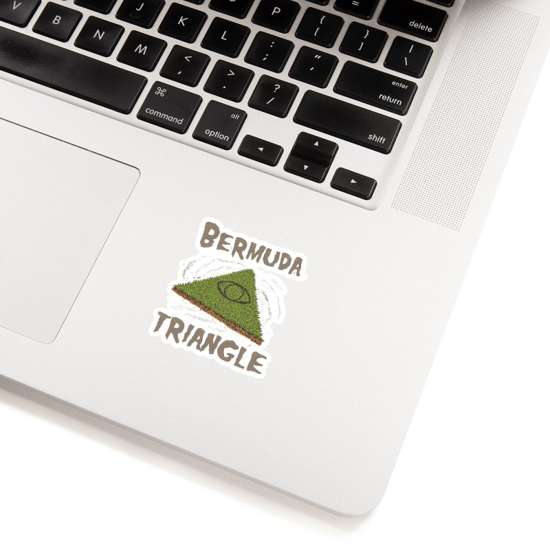 Bermuda Triangle Accessories Sticker by Vincent Trinidad Art