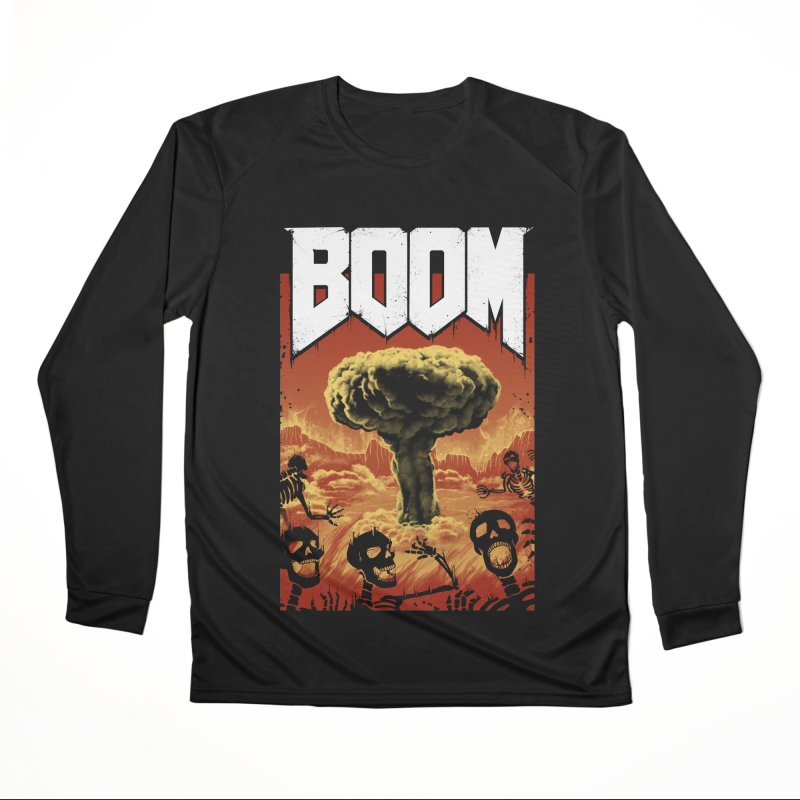 Boom! Women's Performance Unisex Longsleeve T-Shirt by Vincent Trinidad Art