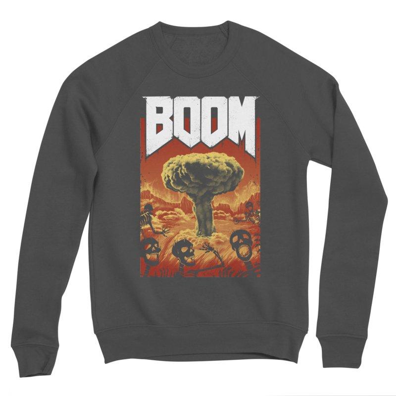 Boom! Women's Sponge Fleece Sweatshirt by Vincent Trinidad Art