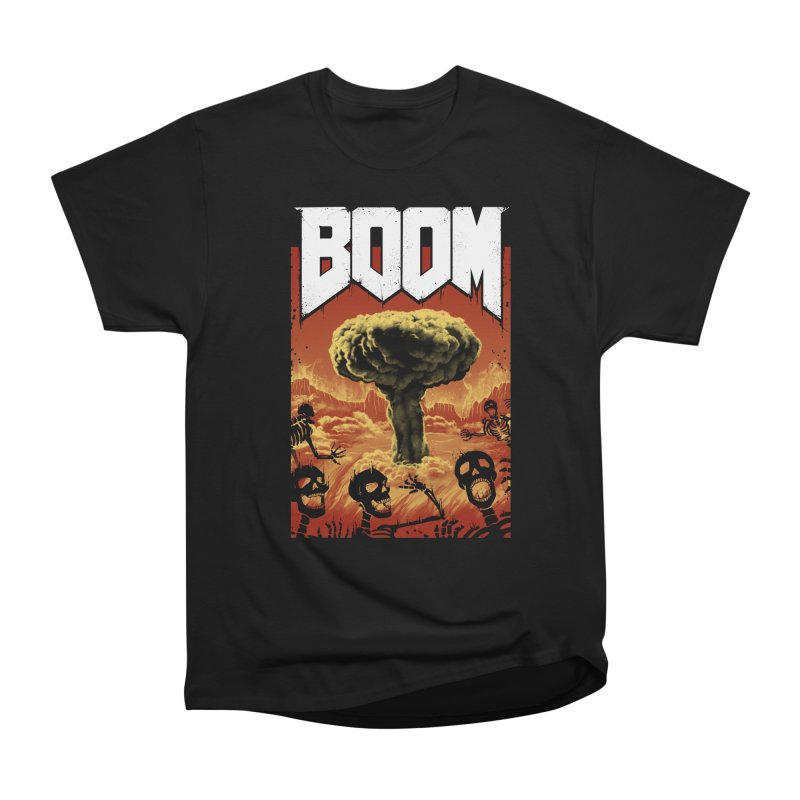 Boom! Men's Heavyweight T-Shirt by Vincent Trinidad Art