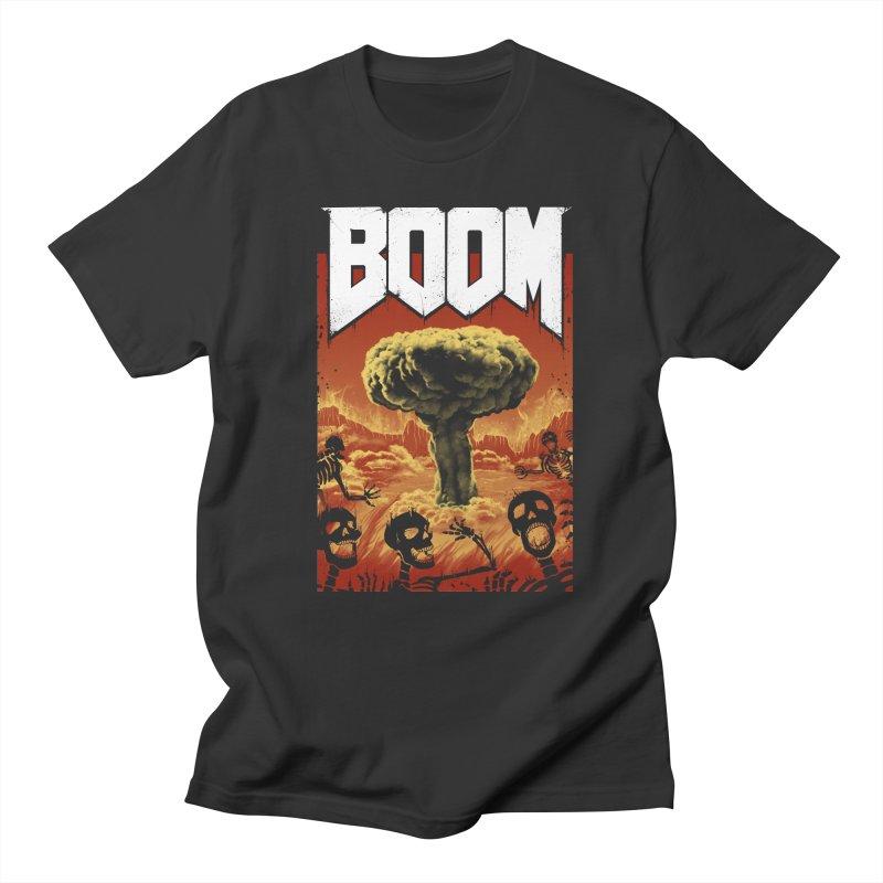 Boom! Men's Regular T-Shirt by Vincent Trinidad Art
