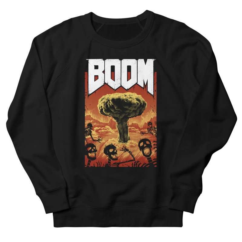 Boom! Men's French Terry Sweatshirt by Vincent Trinidad Art