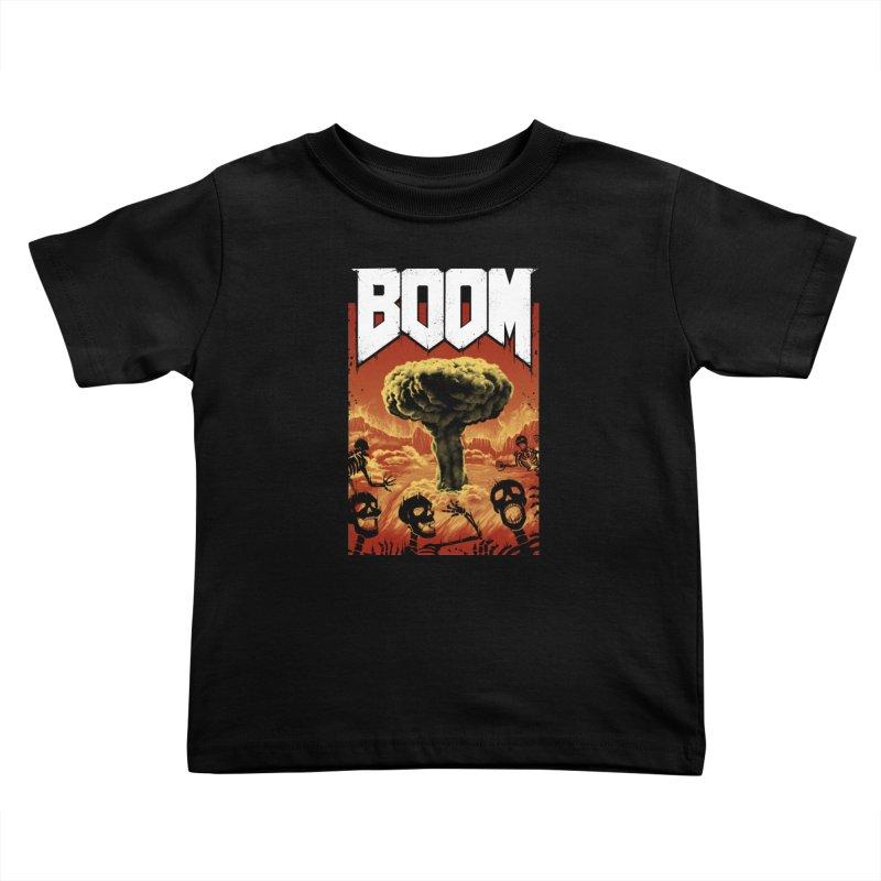 Boom! Kids Toddler T-Shirt by Vincent Trinidad Art
