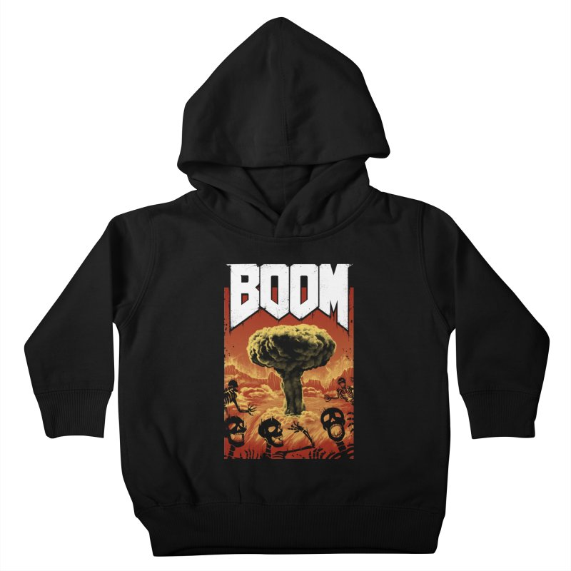 Boom! Kids Toddler Pullover Hoody by Vincent Trinidad Art