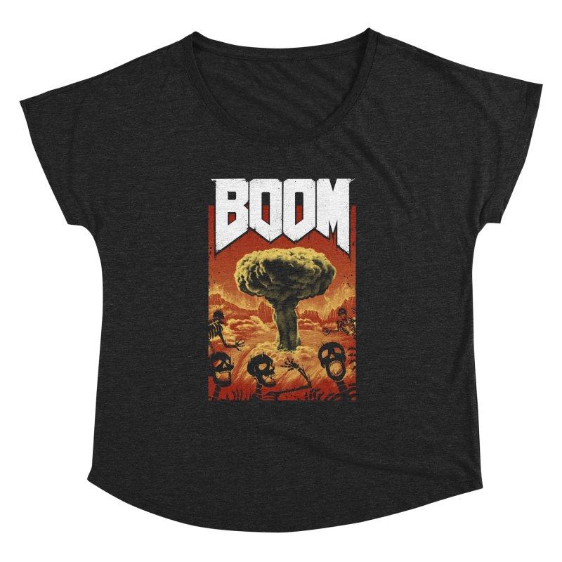 Boom! Women's Dolman Scoop Neck by Vincent Trinidad Art