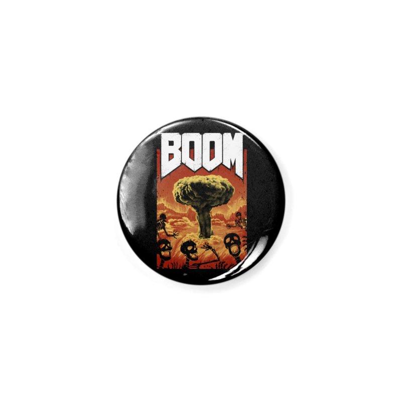 Boom! Accessories Button by Vincent Trinidad Art