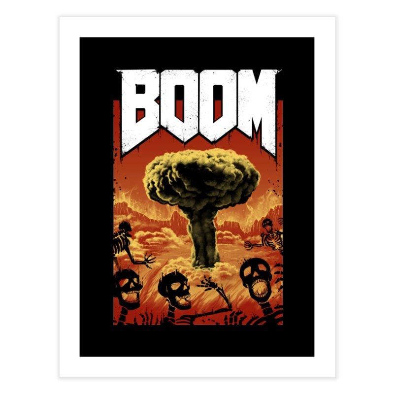 Boom! Home Fine Art Print by Vincent Trinidad Art