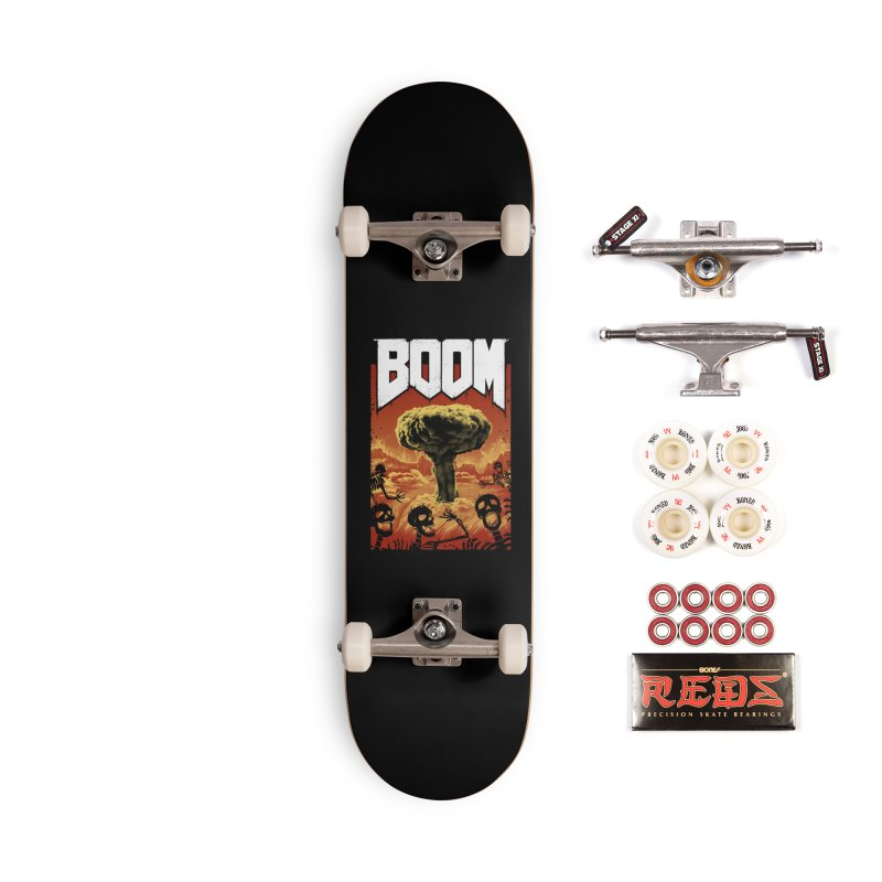 Boom! Accessories Complete - Pro Skateboard by Vincent Trinidad Art