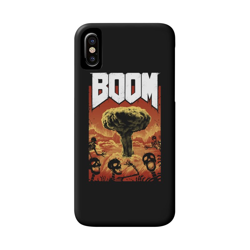 Boom! Accessories Phone Case by Vincent Trinidad Art