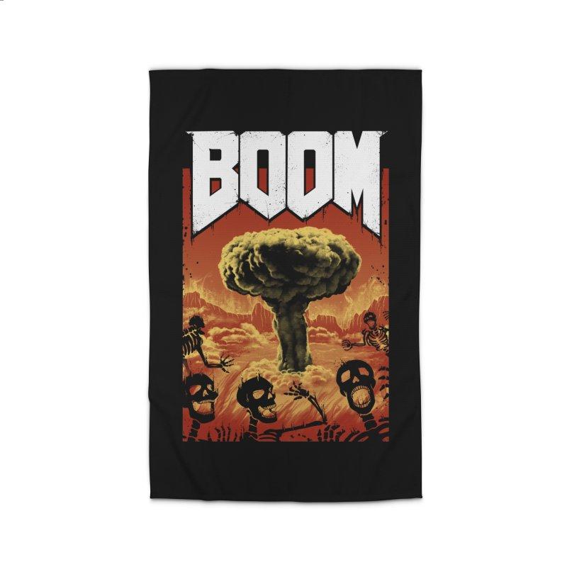 Boom! Home Rug by Vincent Trinidad Art