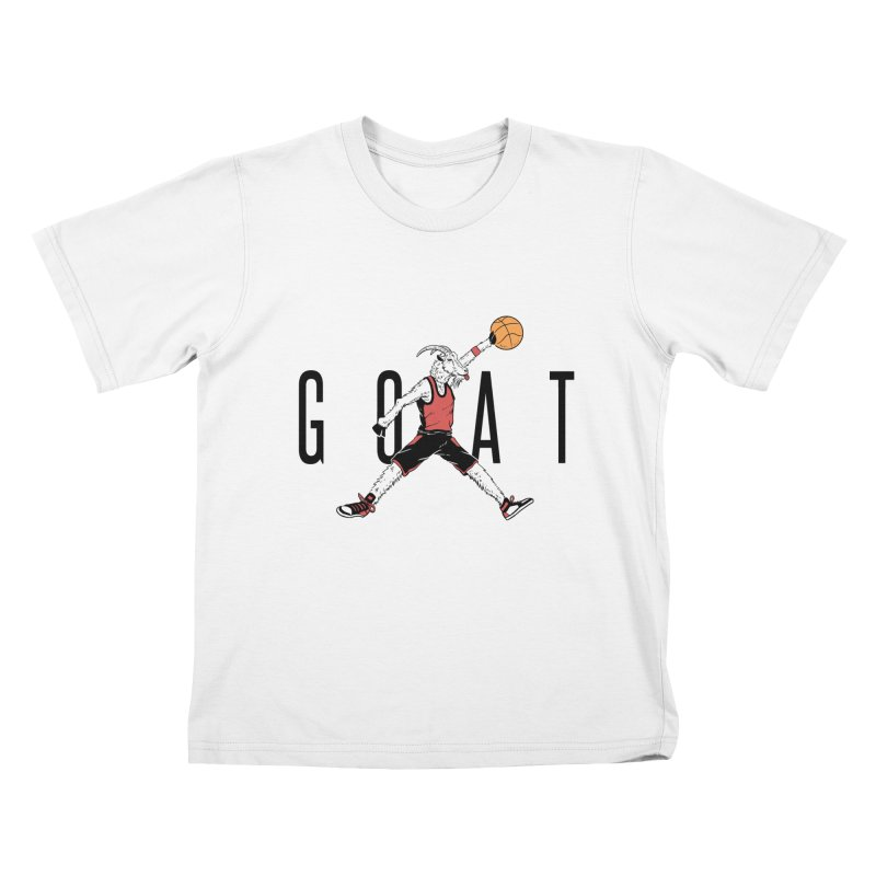 The G.O.A.T Kids T-Shirt by Vincent Trinidad Art