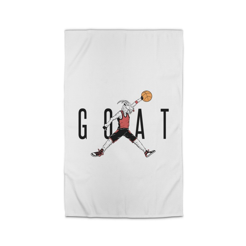 The G.O.A.T Home Rug by Vincent Trinidad Art