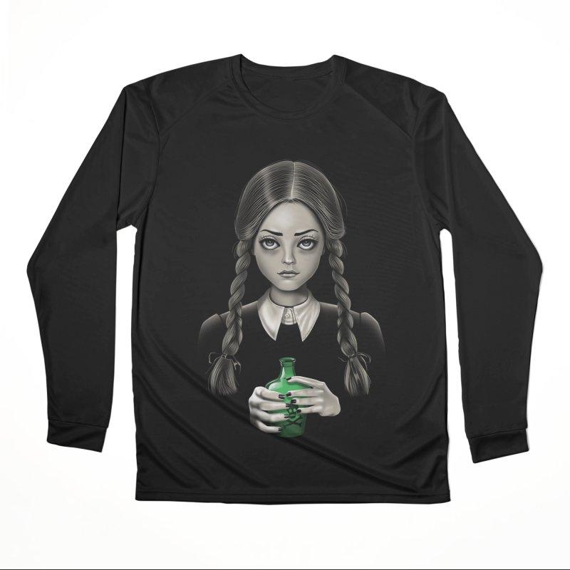 Death Bores Me Women's Performance Unisex Longsleeve T-Shirt by Vincent Trinidad Art