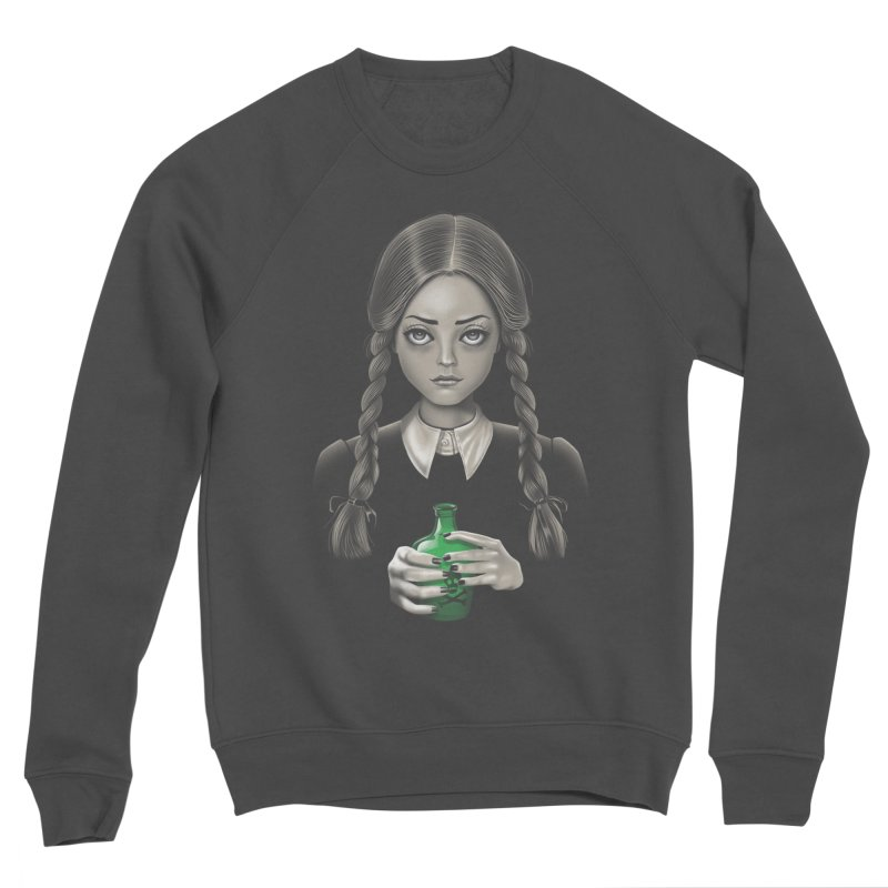Death Bores Me Women's Sponge Fleece Sweatshirt by Vincent Trinidad Art