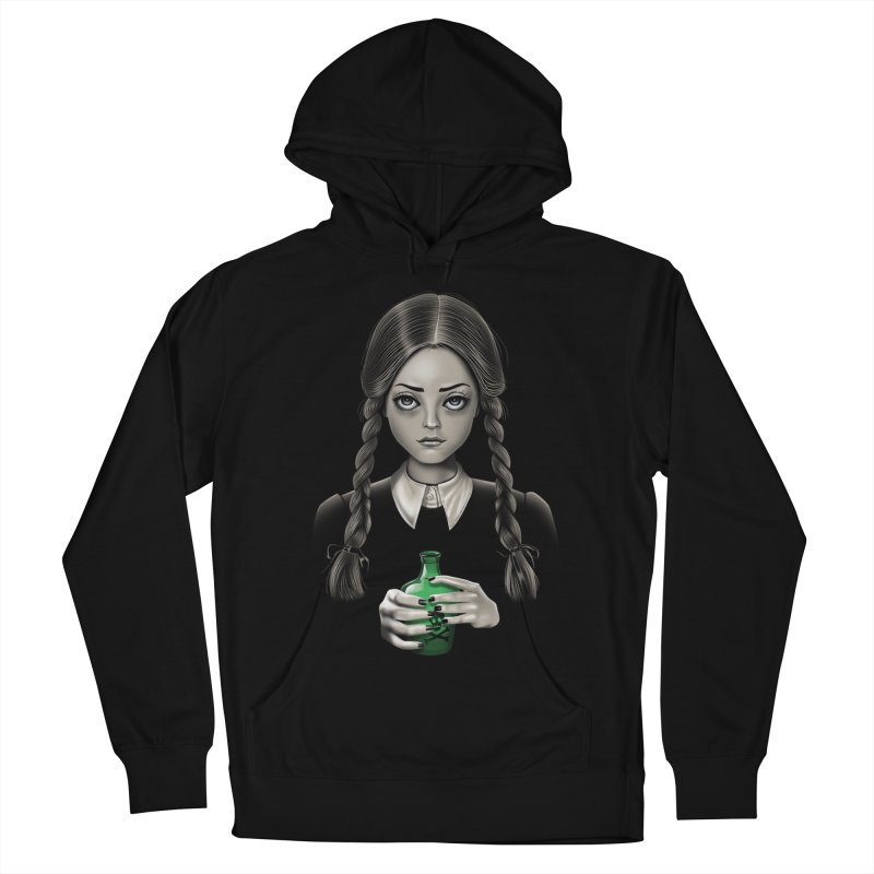 Death Bores Me Men's French Terry Pullover Hoody by Vincent Trinidad Art