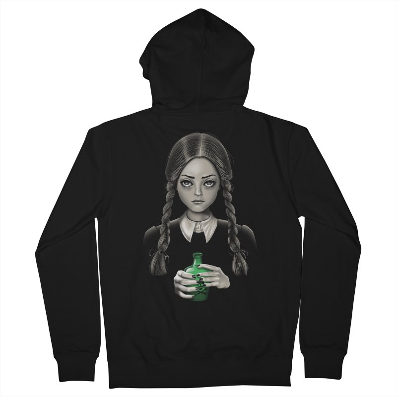 Death Bores Me Women's French Terry Zip-Up Hoody by Vincent Trinidad Art
