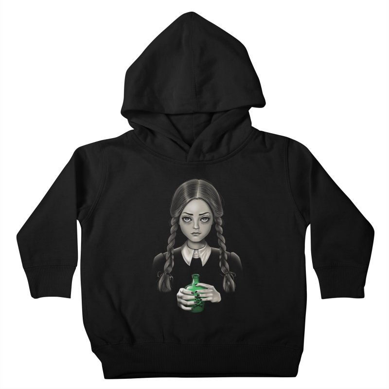 Death Bores Me Kids Toddler Pullover Hoody by Vincent Trinidad Art