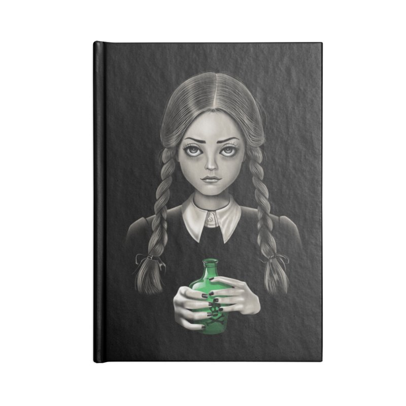 Death Bores Me Accessories Blank Journal Notebook by Vincent Trinidad Art