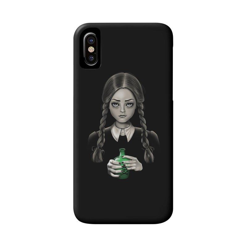 Death Bores Me Accessories Phone Case by Vincent Trinidad Art