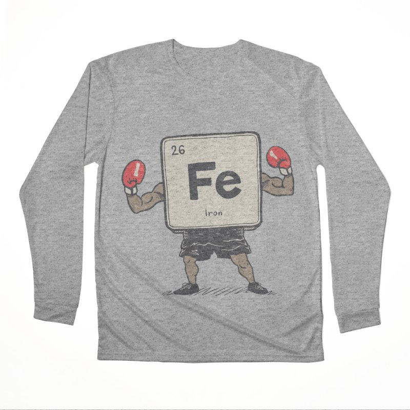 Iron the Boxer Men's Performance Longsleeve T-Shirt by Vincent Trinidad Art
